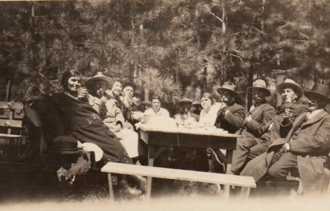 Bulgaria:group in the Forest, Yakima Washington 1933?